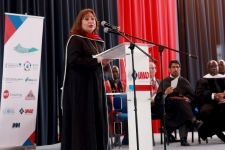 Bishop Minerva G. Carcaño delivers keynote speech