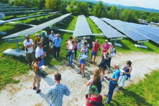 Boston Solar Field Image