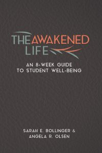 Book cover: The Awakened Life: An 8-week Guide to Student Well-Being