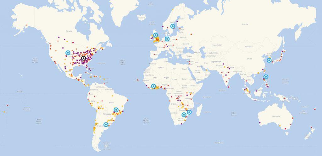 GBHEM World Map
