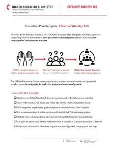 Formation Plan Template