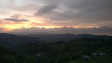 A view from the top of the Sierra de Ancares.