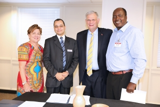 GBHEM leaders signed the Partnership Agreement for the expansion of the already existing global network of regional hubs.