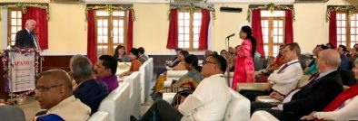 Keynote address by Rev. Dr. Thomas Wolfe