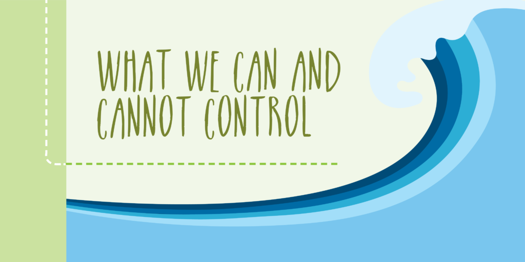 What We Can and Cannot Control