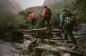 Leading in Crisis Hikers Visual