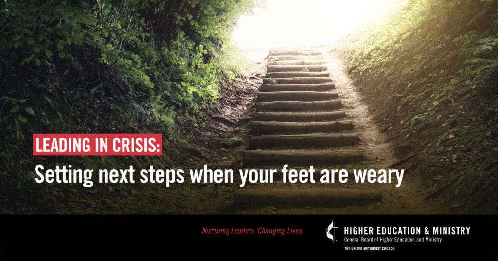 Setting Next Steps When Your Feet Are Weary