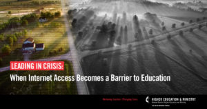 When Internet Access Becomes a Barrier to Higher Ed