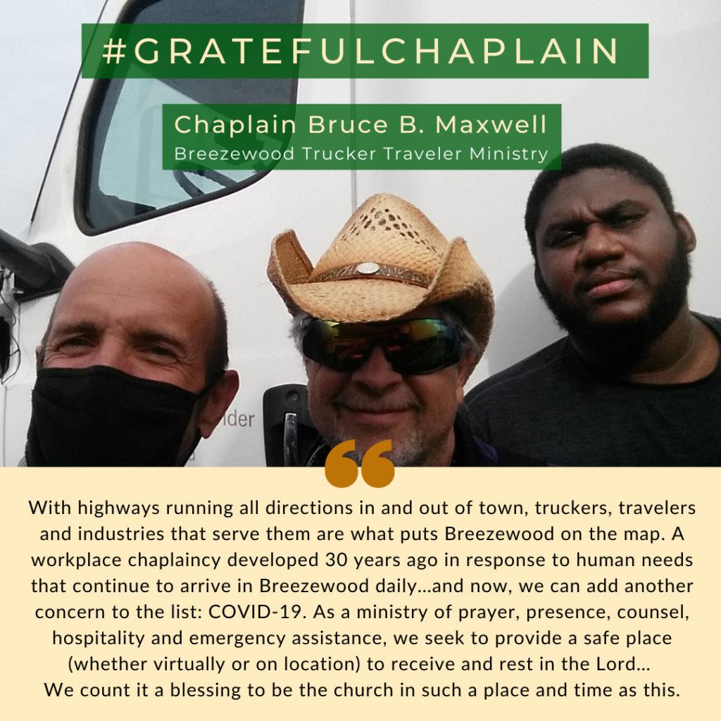 Grateful Chaplain - Bruce B. Maxwell